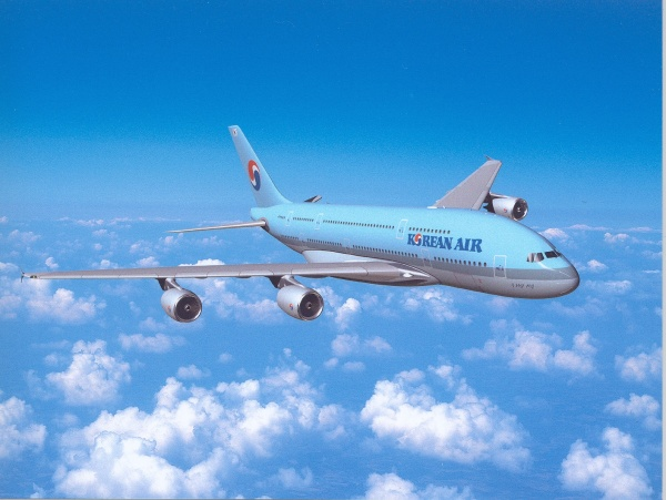 Korean Air airplane
